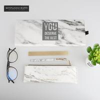 3In1 Marble Stationery Gift Set School Stationery Set Office Tools Luxury Marble Pencilcase Stationery Gift Set Bts Kids Gift
