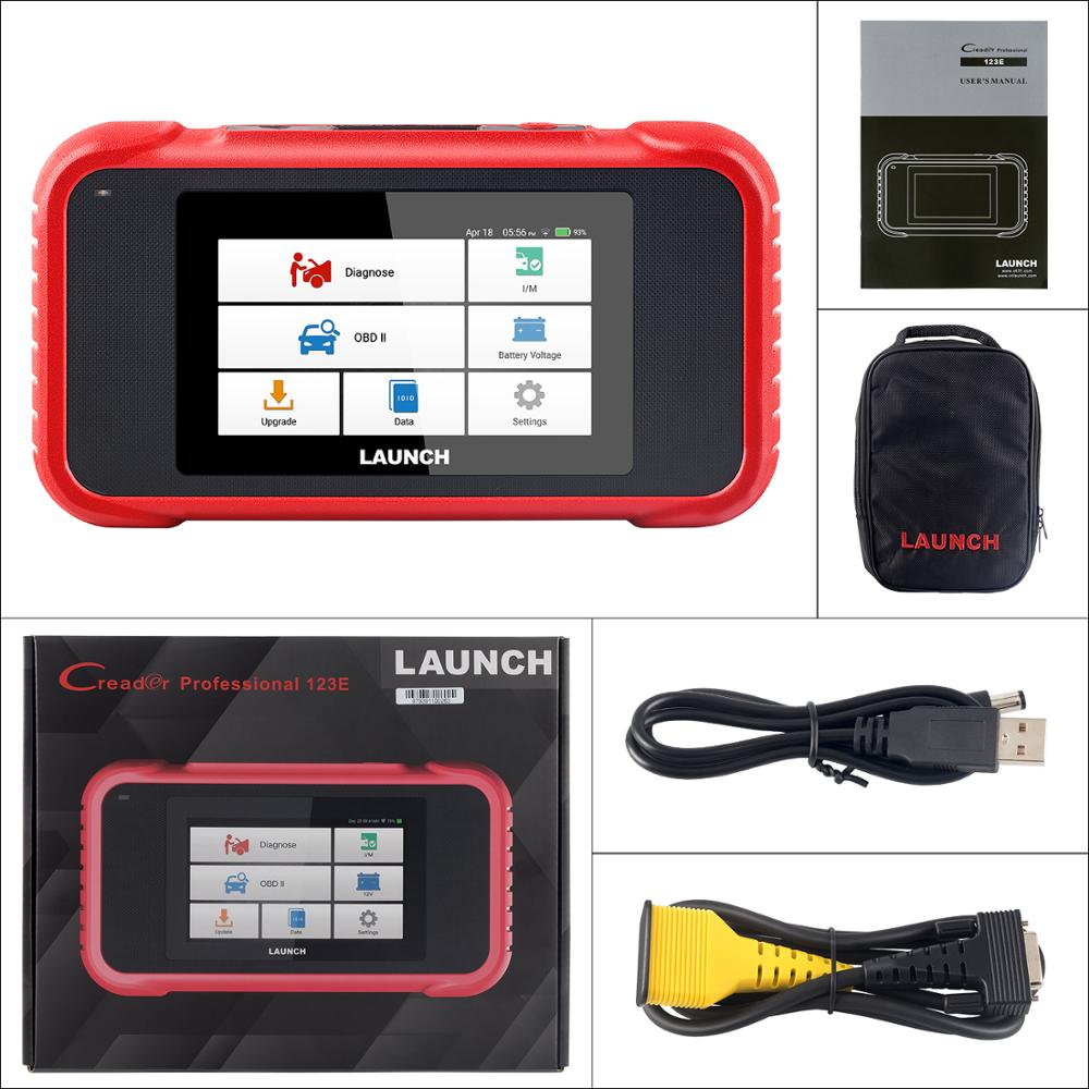 Image 5 - New arrival LAUNCH X431 CRP123E OBD2 Code Reader For Engine ABS Airbag SRS Transmission OBD diagnostic tool CRP123 E Free Update-in Code Readers & Scan Tools from Automobiles & Motorcycles on