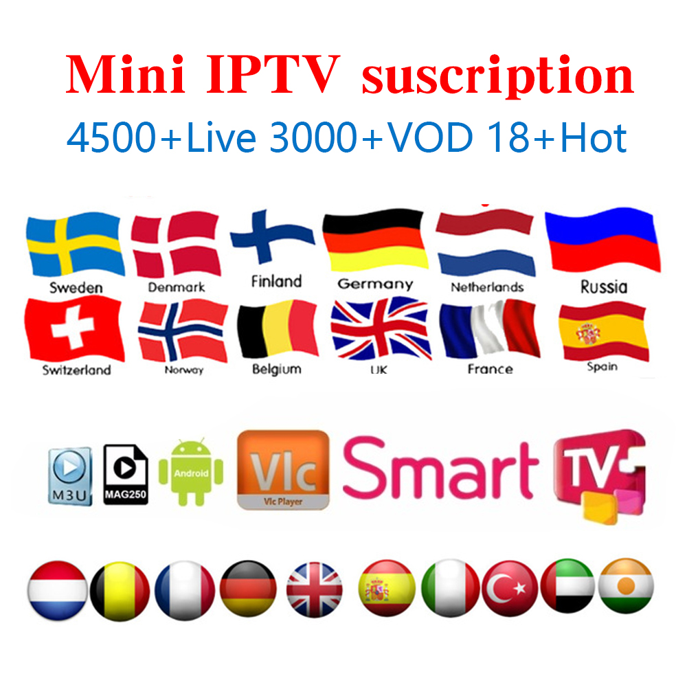 French IPTV ,Spain, Portugal, Italy, Arabic IPTV Europe Subscription Wisdom Support Android M3u Enigma2 Mag250 Smart Iptv