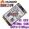 Huawei EM820W 3 г сеть мини PCIE карта HSPA + ModuleUMTS / HSDPA / HSUPA / spf-pa HSPA + GPS