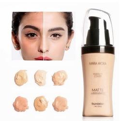 Face Foundation Make Up Base Liquid Long-lasting Brighten Facial Matte Mineral Whitening Makeup Moisturizer Foundation Cream
