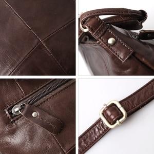 Image 5 - Ayakkabıcı Legend Vintage kova çanta kadın omuzdan askili çanta hakiki deri kadın tote alışveriş çantası marka tasarımcısı çanta kadın