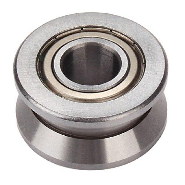 roller ball bearing. v groove sealed ball bearing 8x30x14mm pulley roller wheel guide bearings 8*30*14