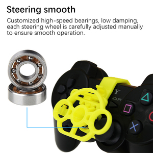 Image 3 - PS3 Gaming Racing Wheel, 3D printed mini steering wheel add on for the PlayStation 3 controller