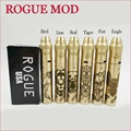 2017 new arrival 24mm mech mod Rogue mechanical mod rogue mod with five different pattern with RDA atomizer