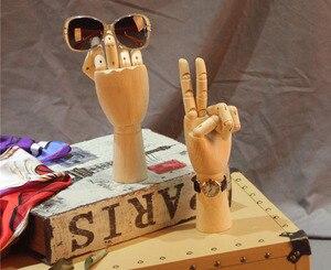 ! Livraison gratuite Mannequin en bois à la mode | Mannequin modèle de main en bois, main en vente