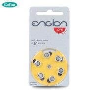 60 baterias da pilha do botão de e10 dos pces para o realçador invisível das próteses auditivas mini sem fio para a bateria velha do aparelho auditivo a10|Aparelhos auditivos| |  -