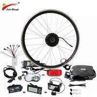 Лучшая цена $239 простой Электрический велосипед Conversion kit 36 В в В 48 для 20 24 26 700C 28 концентратор двигатель колеса bicicleta electrica