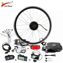 Лучшая цена $239 простой Электрический велосипед Conversion kit 36 В в В 48 для 20 «24» 26 «700C 28» концентратор двигатель колеса bicicleta electrica
