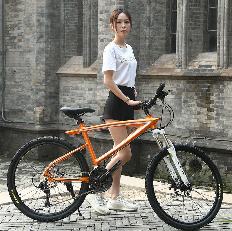 Высококачественный 27 быстро действенный алюминиевый сплав рама горный велосипед двойной велосипед с дисковым тормозом для мужчин и женщин