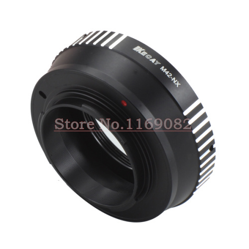 KECAY M42 NX lens adapter for M42 Screw Lens to for Samsung NX Mount Adapter Ring