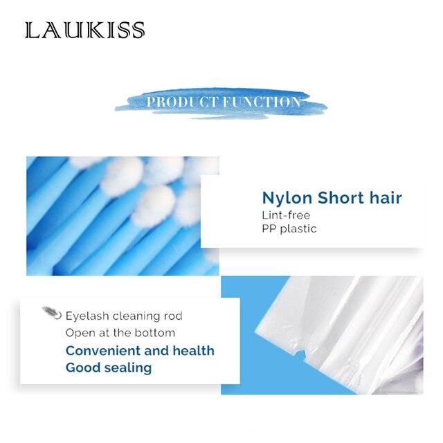 100pcs/lot Micro Brushes Make Up Eyelash Extension Eye Lash Glue Brushes Lint Free Disposable Applicators Sticks Makeup Tools 3