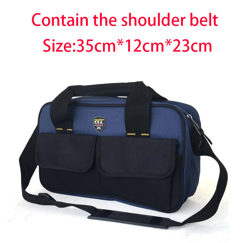 FASITE Multifunction Canvas Bag Tool Handbag Storage Bag Waterproof Electrician Bag + Shoulder Belt Free Shipping fasite multifunction canvas bag tool handbag storage bag waterproof electrician bag waist belt free shipping