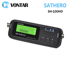 [Véritable] Sathero SH-100HD Digital Pocket Satellite Finder Satellite Mètres Sathero SH-100 HD Signal Sat Finder DVB-S2 USB 2.0