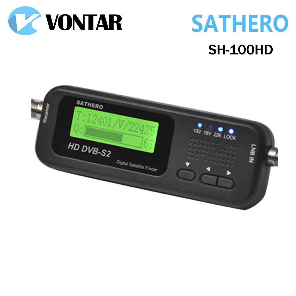 genuine sathero sh 100hd pocket digital satellite finder satellite meter sathero sh 100 hd. Black Bedroom Furniture Sets. Home Design Ideas