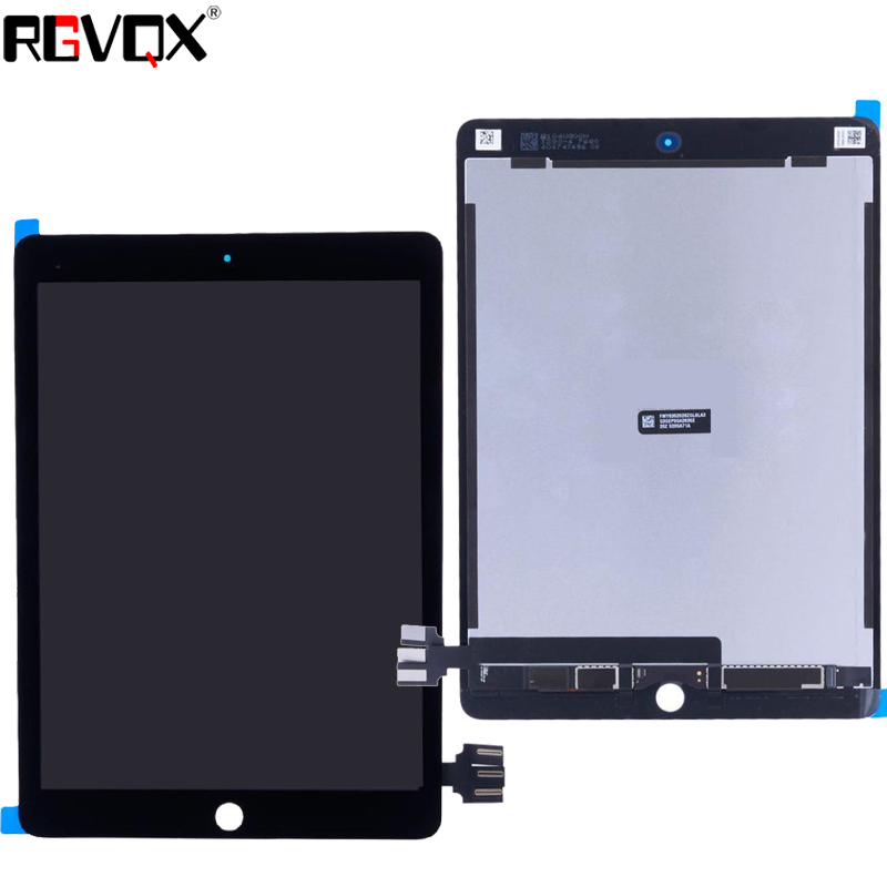 New 9.7 Lcd Display Digitizer panel for iPad Pro 9.7 inch A1673 A1674 A1675 Replacement Repair parts By Free Shipping a funssor lcd controller panel for flashforge creator pro 3d printer lcd panel fast ship