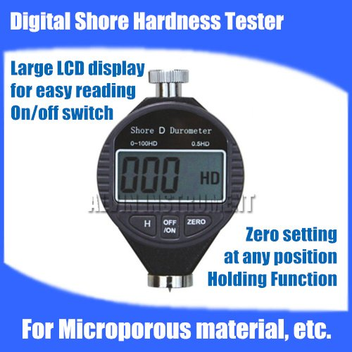 Free shipping Digital Shore Hardness Tester Meter shore Durometer Rubber Hardness Tester Type C  For Microporous material, etc.  цены