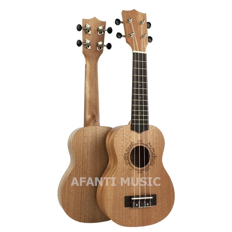 Afanti  Music Mahogany / 21 inch Ukulele (DGA-218) 13 inch double tone afanti music snare drum sna 109 13
