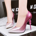 blue shoes Women Pumps 2017 Sexy pumps High Heels Party Shoes Woman Pumps sapatos feminino  pink heels Pointed Toe pumps X326