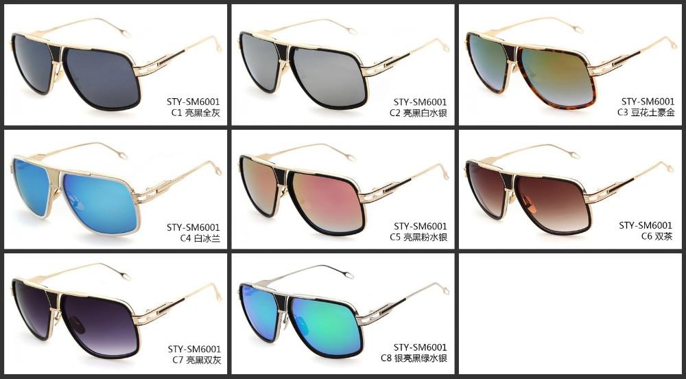 Mjeshtër i ri i mbërritjes Sunglasses gra / burra 18K Glod Sunglass - Aksesorë veshjesh - Foto 6