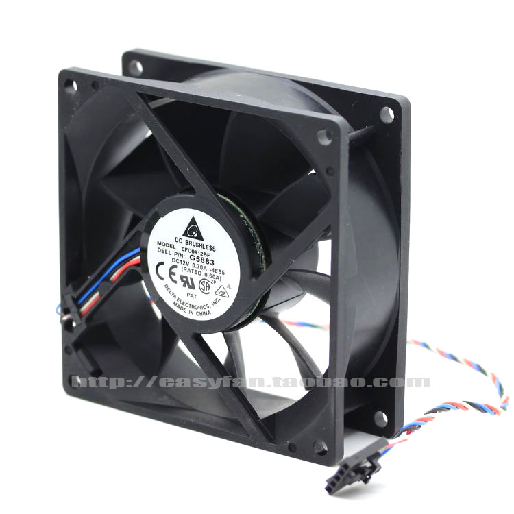 for delta THB1548AG DC 17251 48V 3.60A Pressurization high air volume server case cooling fan