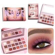 QIAOYAN Nude Eye Shadow Palette 18 Color Eyeshadow Shimmer Matte Glitter Powder Waterproof Paleta De Sombra Makeup Pallete