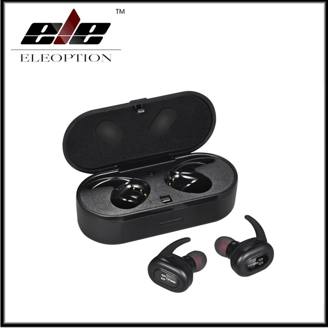 Wireless Bluetooth Earbuds Waterproof Sport Earphone In-Ear Noise Cancelling Headset with V4.2 for iphone 8/7/7s android xiaomi