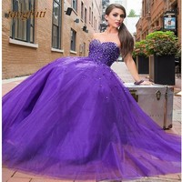 Ball Gown Quinceanera Dresses Crystals Sweet 16 Quinceanera Dress Prom Party Masquerade Sweet 16 Dresses vestidos de 15 anos