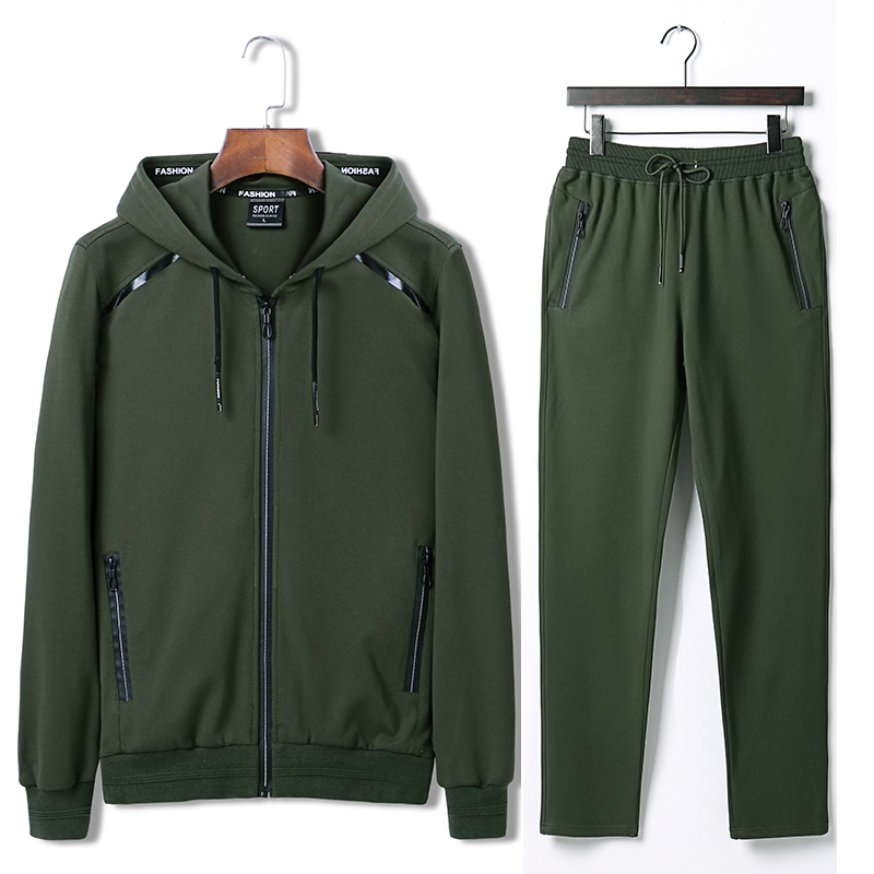7XL 8XL 9XL Hoodies Set Mens Sport Suit Loose Big Size Sportsuit 2018 New Sportswear Gym Clothing Men Run Sets 140kg Can Wear  (2)