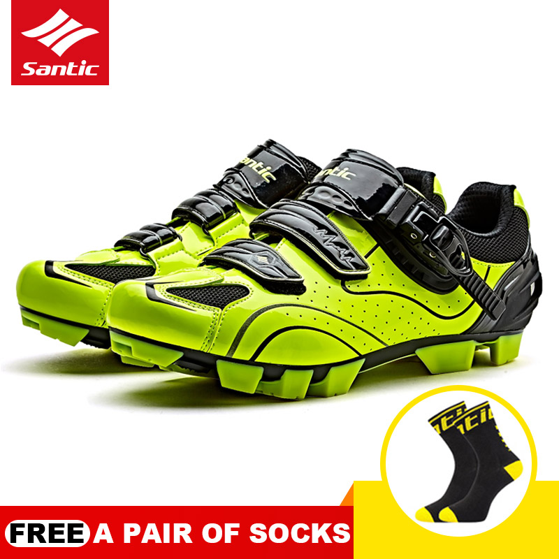 New Men Big Size Cycling Shoes Outdoor Mountain Bike Hook&Loop Shoes MTB Non-slip Bicycle Shoes Sapatos Bicycle Sneakers SANTICNew Men Big Size Cycling Shoes Outdoor Mountain Bike Hook&Loop Shoes MTB Non-slip Bicycle Shoes Sapatos Bicycle Sneakers SANTIC