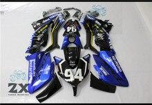 Выполните Обтекатели для Yamaha Tmax 530 15 16 t-max ABS Пластик комплект инъекций мотоциклов обтекателя плоский черный комплект цвет