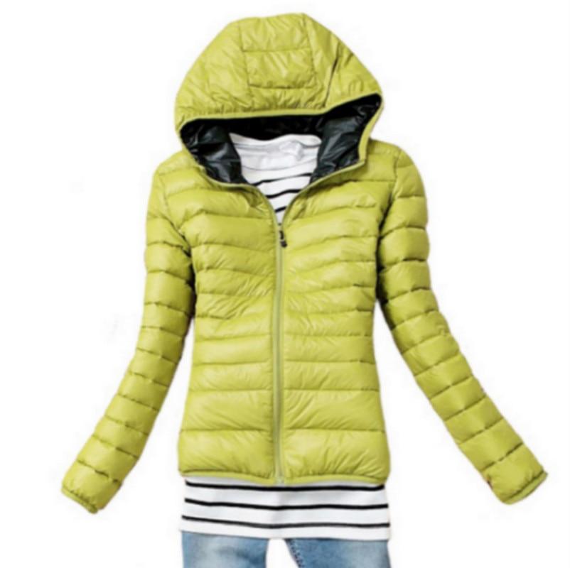 Yeni 2016 Moda Parkas Kış Kadın Aşağı Ceket Kadın Giyim Kış Ceket Renk Palto Kadın Ceket Parka