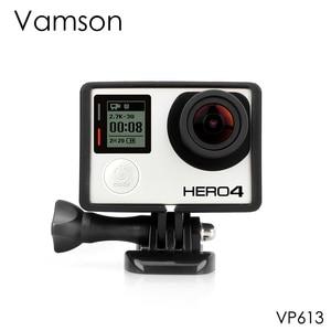 Image 1 - Vamson for Go pro Accessories Standard Protective Plus Frame Tripod Mount Base Screw for GoPro Hero 4 3+ 3 Camera VP613