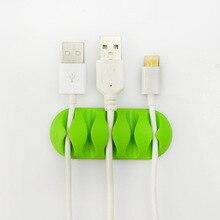 Ugreen winder кабельные кремния кабеля наушников клипы провода наушники организатор зарядное