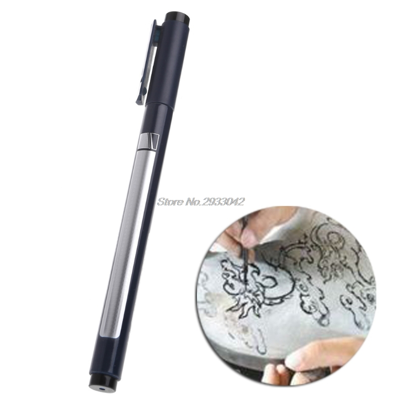 Micro <font><b>005</b></font> Superfine Engraver Pen DIY Hand Etching Jadeware Rice Engraving Tool-W128 image