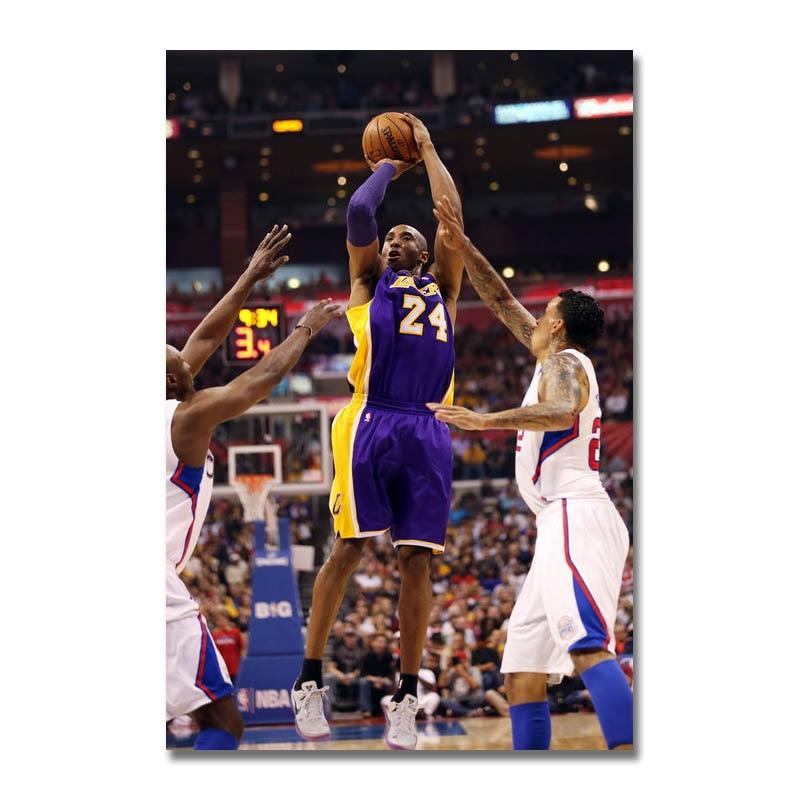 kobe bryant dunks basketball star