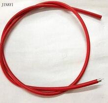 5 m RG 402 RG402 Yarı Sert RF koaksiyel kablo Yarı Esnek 50ohm Kırmızı