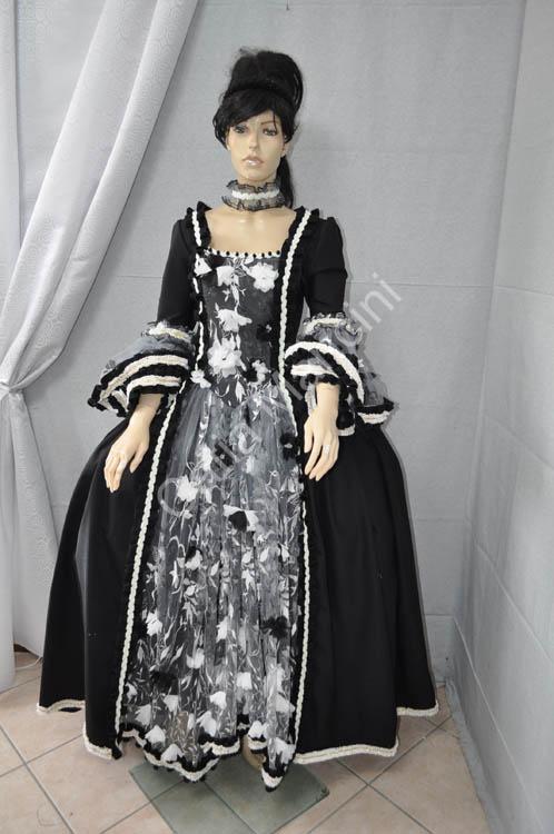 À Plissée Bal Soirée Robe Dentelle Pois Civile En De Renaissance Victorienne Guerre Costume Uww05HIq