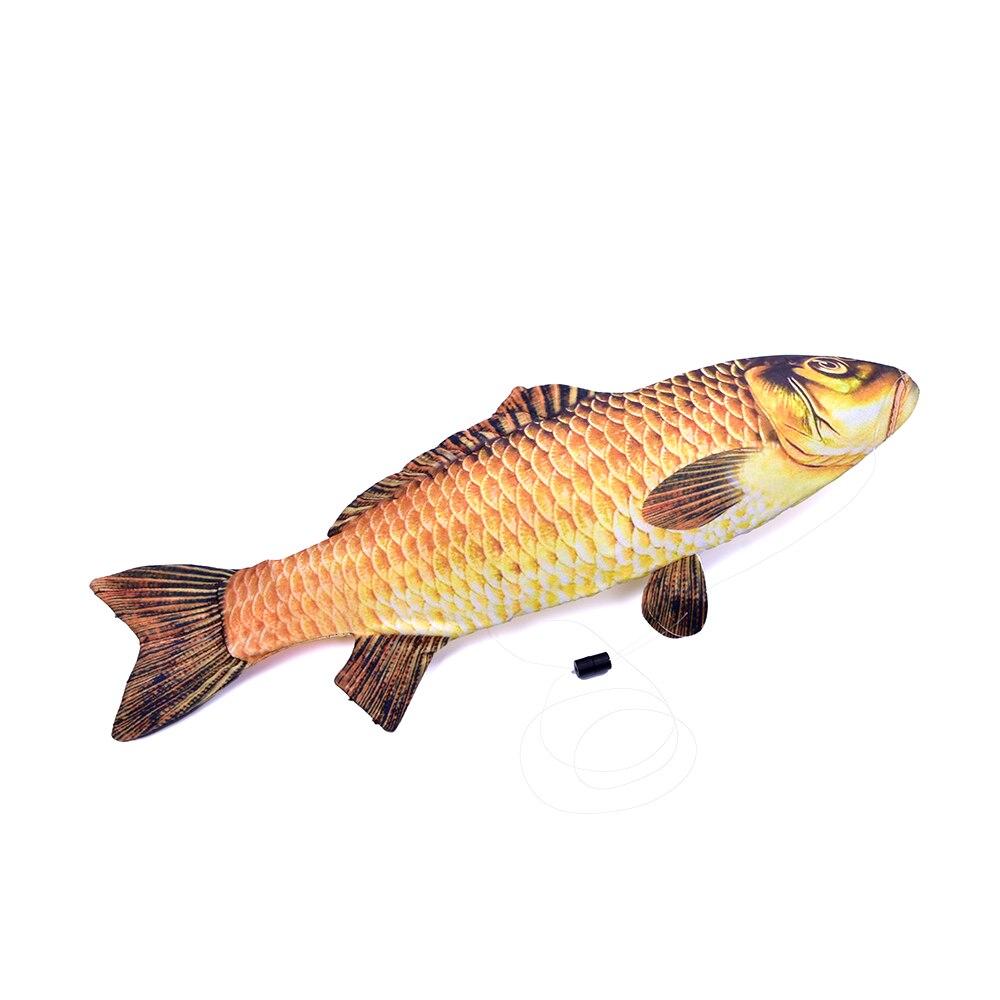 54 cm nouveaux tours de magie de poisson apparents gros plan poisson magique apparaissant de la carte étui Magia Gimmick drôle poisson magique pour magiciens