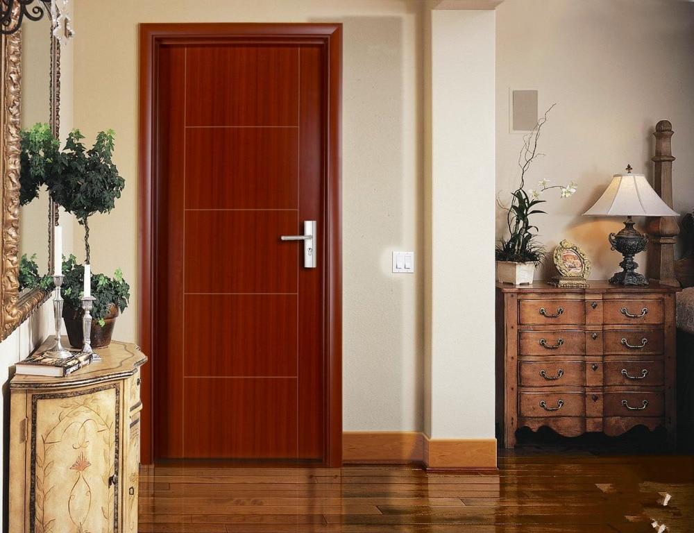 puerta interior de madera modernos wd