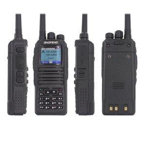 Image 3 - Новинка, Двухрежимная аналоговая и цифровая рация launch DMR Baofeng, стандартная Двухдиапазонная рация, 1 + 2 слота времени DM1701, Любительское двухдиапазонное радио