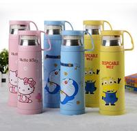 2015 Hello Kitty Drinkware Thermos Water Bottle Thermo Vacuum Stainless Steel Double Wall Mug Thermal Cup