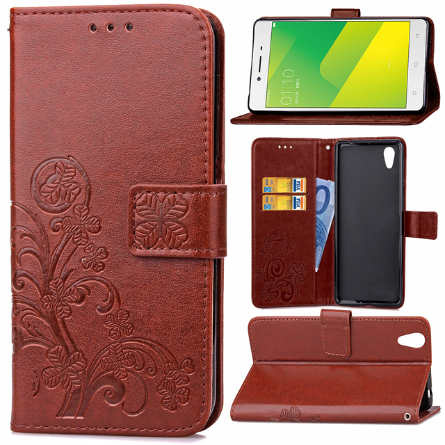 low priced 844eb e3207 US $4.98 |For OPPO A37 Neo 9 flip Case Soft PU Leather cover Wallet Phone  bag shell for OPPO A 37 Neo 9 cover stand with card slot case-in Flip Cases  ...