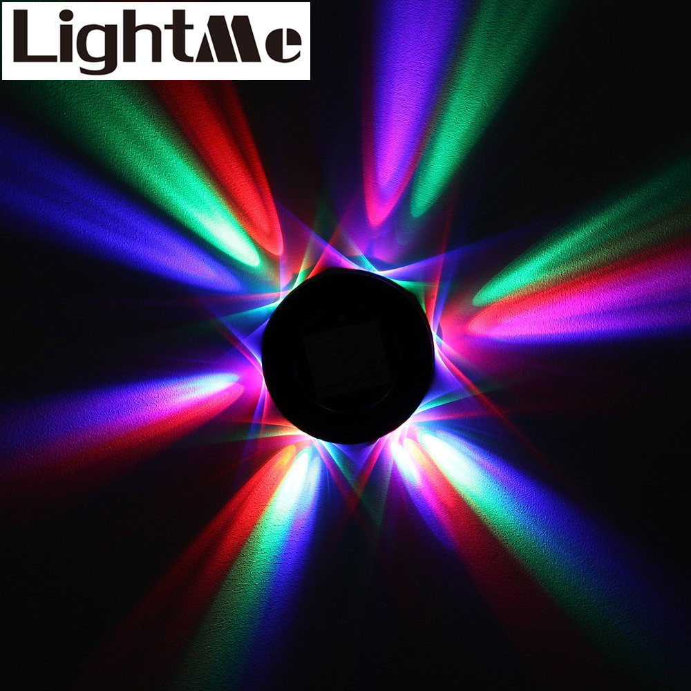new color changing rotating ufo 48 leds voice control sunflower led stage light rotating rgb. Black Bedroom Furniture Sets. Home Design Ideas
