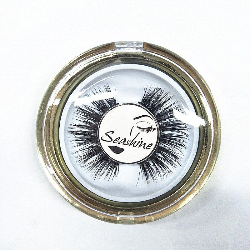 все цены на Seashine 20 pairs Mink Lashes 3D Mink False Eyelashes Long Lasting Lashes Natural Lightweight Mink Eyelashes Glitter Packaging онлайн