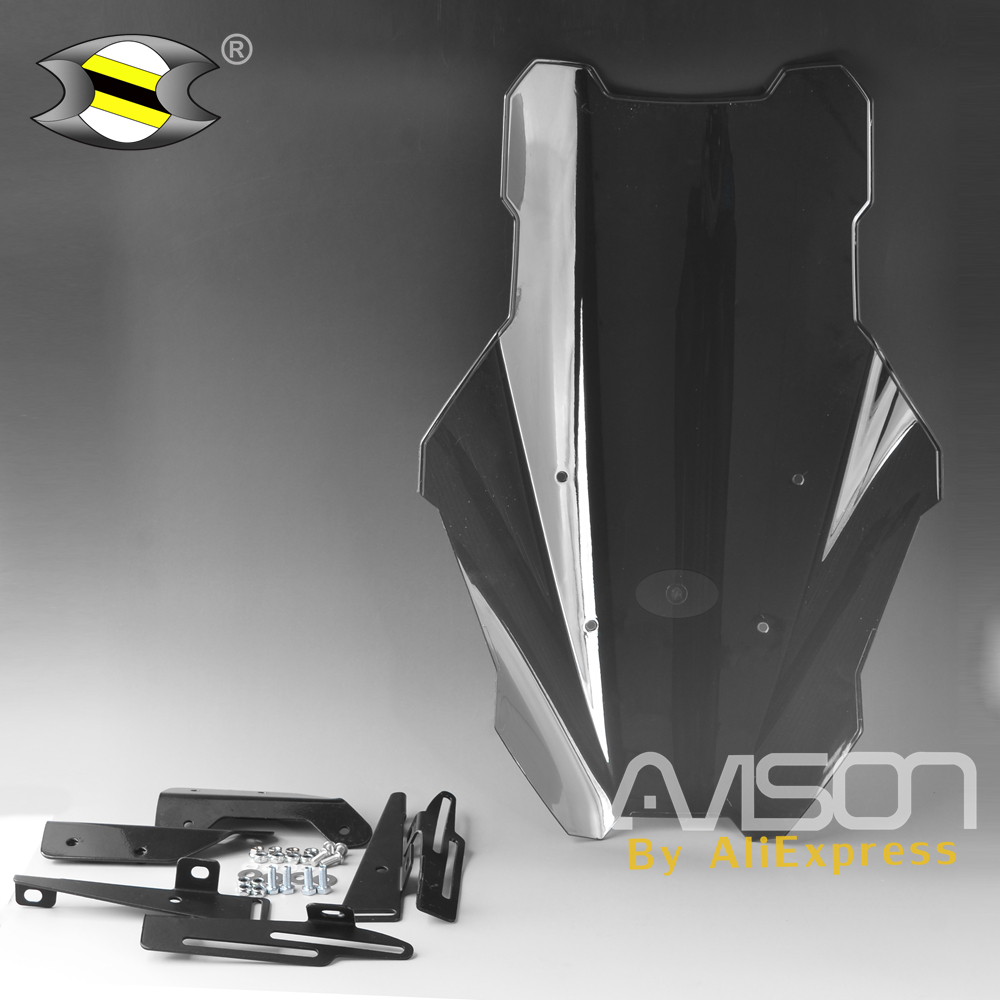 For Yamaha Nmax NMAX155 NMAX 125 Modified Nmax155 Motorcycle Adjustable Windshield WindScreen Height Modle Smoke Color
