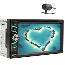 6.5 inch touch screen In Dash Car DVD Stereo Video Player Head Unit AM FM  Radio Multi Language Include Rearview Camera!