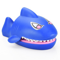 Trumpet Sound and Light Bite Hand Shark Whole Bite Finger Glow Sound Shark Children Whole Novelty Toys