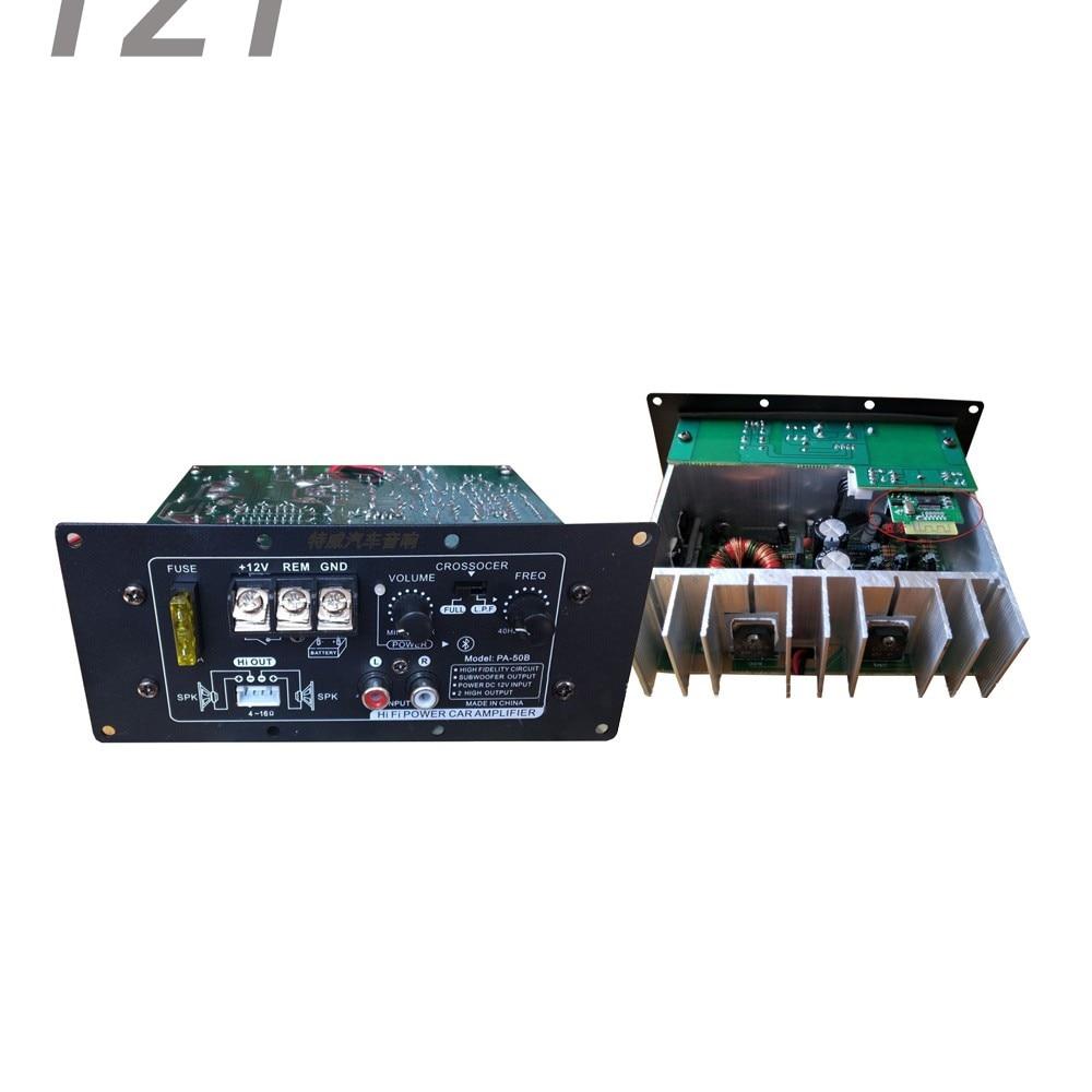 500w A1941 C5198 Transistor 12v High Power Amplifier Board Car Circuit Bass 100w Subwoofer Pa 50b Audio Hifi 600w