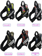Dog harnesses Pet Hot Sale Reflective Rope Nylon Handle Adjustable 11Colors Large Harness For Small Medium Animals